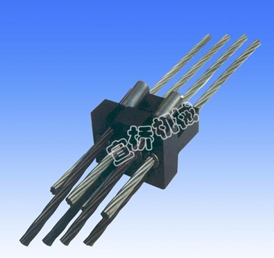 锚具用 四件套 BM15L型 扁形锚具连接器